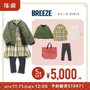 ブリーズ福袋2020女の子5千円